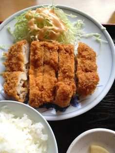Crispy Breaded Chicken Cutlets and Rice, Popular Japanese Meal|チキンカツ定食  I MISS EATING THIS!!!