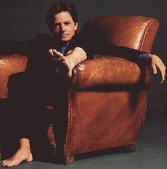 Cute lil feet! Michael J Fox