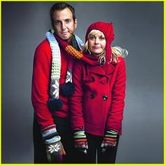 Will Arnett and Amy Poehler. Gap Holiday 2007.