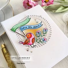 Paper Art, Paper Crafts, Clear Stamps, Color Mixing, Cardmaking, Valentines Flowers, Bird Cards, Crafty, Card Kit