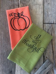 These are the perfect gift for bridal showers, housewarming, wedding, Christmas, or birthdays. Designs are heat transferred onto Kitchen Towels. Dont see the saying you want? Send me a message and we can create a custom design. Be sure to select color AND saying at checkout; not doing so can and will delay production time and shipping time. All designs are made by us with high grade heat transfer vinyl and are pressed with a professional heat press. These towels are meant to be decorative…