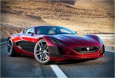 The Concept One, from Croatian designers Rimac Automobilivia carhoots.com