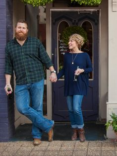 Ben + Erin 4 Ever! Our Favorite Pics from 'Home Town' Season and Ben Napier captivated. Ben + Erin 4 Ever! Our Favorite Pics from 'Home Town' Season Big Men Fashion, Fashion Outfits, Home Town Hgtv, Erin Napier, Hgtv Star, Chip And Joanna Gaines, Fashion Sewing, Cute Outfits, My Style
