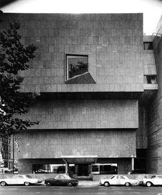 Marcel Breuer - Whitney Museum, New York - TÉCHNE