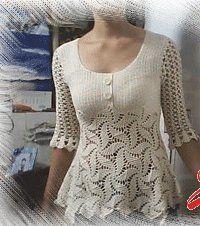 DIANA - Atelier handmade: Bluziţe croşetate de vară