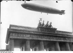 Ein Zeppelin über Berlin