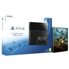 Sony PlayStation 4 1TB - Includes The Elder Scrolls Online: Tamriel Unlimited Steelbook