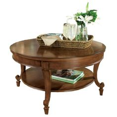 I pinned this Magnussen Aidan Coffee Table from the Game Day Entertaining event at Joss and Main!