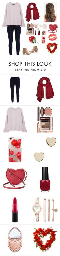 """""""Valentine's Day ❤️"""" by argenta2410 ❤ liked on Polyvore featuring Vila Milano, donni charm, MANGO, Charlotte Tilbury, Casetify, Shashi, Juicy Couture, MAC Cosmetics, Anne Klein and Too Faced Cosmetics"""