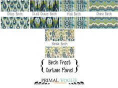Aqua Teal Curtain Panel with Rod Pocket by PrimalVogueHomeDecor