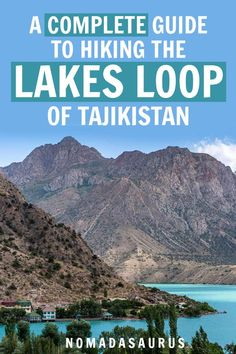 Here's all you need to know for hiking the Lake Loops hike in the Fann Mountains in Tajikistan   things to do in tajikistan, hiking tajikistan, central asia hiking