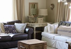 When visiting someone's house, the first room you will see is the living room of the house. This makes the interior design of the living roo. Best Living Room Design, New Living Room, Living Room Chairs, Interior Design Living Room, Living Room Furniture, Living Room Designs, Interior Colors, Grey Couch Decor, Navy Couch