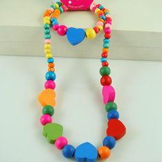 Joyería Hecha A Mano linda! precioso chilren sistema de la joyería/del niño/bebé pulsera del collar de la joyería de Moda N CS26