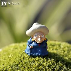 Anime movie Hayao Miyazaki Spirited Away Witch micro fairy garden miniatures decoration figurine action figures dolls DIY props