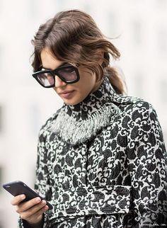 Winter Sunglasses, Karen Walker / Garance Doré