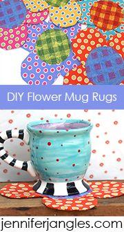 Flower Mug Rugs