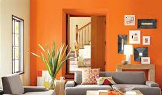 Sua decoração com cor laranja ~ decoração e ideias