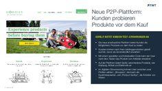 TWT Trendradar: Kunden probieren auf der P2P-Plattform Gorilly Produkte vor dem Kauf