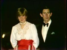 February 23, 1981: Prince Charles & Lady Diana at Clarence house on the night of the announcement of their engagement.
