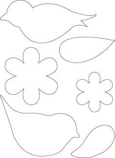 birds templates printable new best images on of inspirational bird template free mask felt ornaments patterns Felt Ornaments Patterns, Felt Patterns, Bird Patterns, Applique Patterns, Bird Template, Flower Template, Crown Template, Heart Template, Felt Flowers