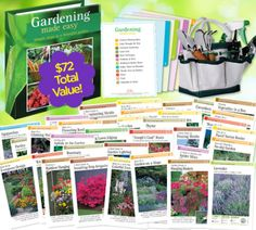 Gardening Made Easy | How-To Gardening Help Kit & Tool Set - Only $5.95!