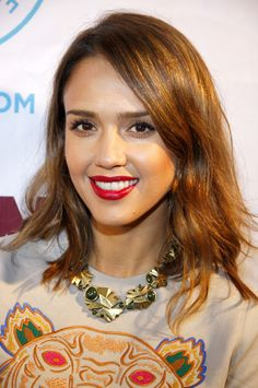 Jessica Alba (2014)  Check out all of her dating history on FamousHookups.com