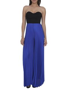 2fer Strapless Pleated Jumpsuit from Arden B. Looking for this jumpsuit store no longer has it