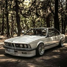 Cool Classic White BMW
