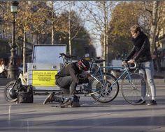 avec Cyclofix faites réparer votre vélo chez vous, au bureau.  Le déplacement est toujours gratuit.