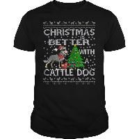 CHRISTMAS IS BETTER WITH A CATTLE DOG
