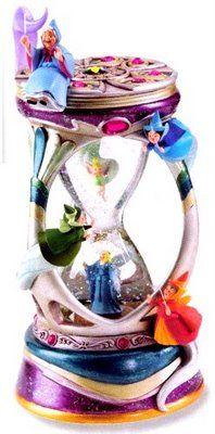 Disney Fairies Hourglass Snowglobe