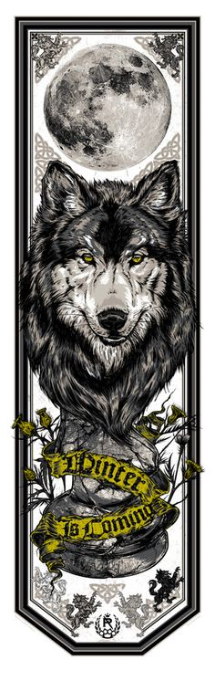House Stark - Winter is Coming (Sweet GoT Bookmarks!)