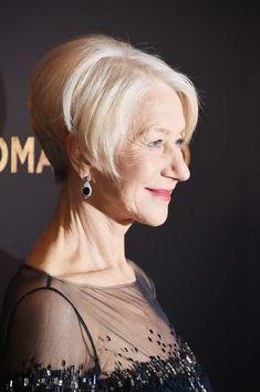 More Pics of Helen Mirren Bob (11 of 49) - Short Hairstyles Lookbook - StyleBistro