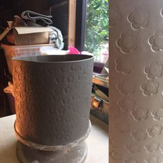 I've been working on a Flower Power plant pot to brighten up any garden and make you SMILE!!