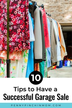 A yard sale is a perfect way to clear out the clutter and make some extra cash.  But, you don't want to toss some items onto a table and call it a day.  Check out these garage sale tips to help you make the most money possible. Saving Ideas, Money Saving Tips, Garage Sale Tips, Create A Budget, Get Out Of Debt, Frugal Living Tips, Extra Cash, Yard Sale, A Table