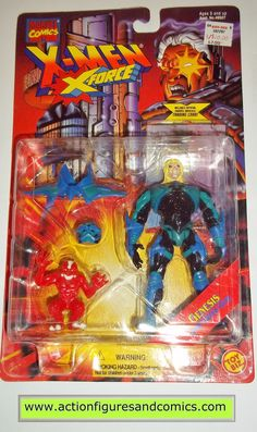 Toy Biz marvel universe X-MEN / X-FORCE series action figures 1995 GENESIS NEW - still factory sealed in the original package figure condition: excellent - never removed, retaining the original mint c