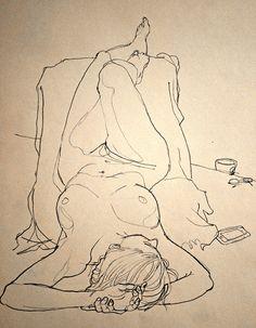 Thursday morning life drawing | by Newsillustrator - Rich Johnson