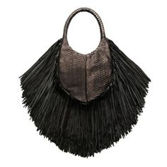 A Pionerring and creative spirit forms part of London-based accessories designer Barbara Bonners's DNA. Fab Shoes, Small Handbags, Olivia Palermo, Get The Look, Python, Tassel Necklace, Style, Shop, Fashion