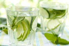 Culinary Institute of America's Cucumber Limeade with Mint