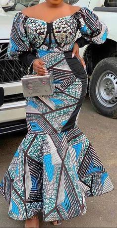 African Fashion Ankara, Latest African Fashion Dresses, African Inspired Fashion, African Dresses For Women, African Print Dresses, African Print Fashion, Africa Fashion, African Attire, African Traditional Dresses