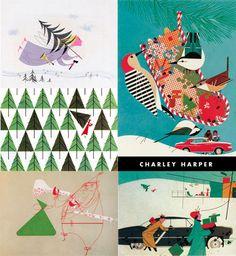 Charley Harper Christmas