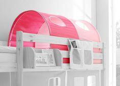 Tunnel Spieltunnel Spielhöhle für Hochbett / Etagenbett rosa / pink | eBay
