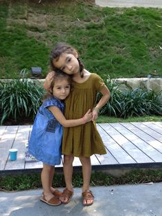 summer girl outfit   Right  Dress, Bonton  Sandals, Bonpoint  Left  Dress, Isabel Marant  Sandals, Avarcas