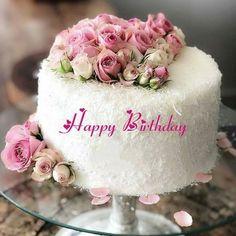 White Forest Flower Decorated Birthday Cake With Name Birthday Cake For Brother, Mother Birthday Cake, Art Birthday Cake, Birthday Cake Write Name, Online Birthday Cake, Cartoon Birthday Cake, Colorful Birthday Cake, Friends Birthday Cake, Birthday Cake Writing