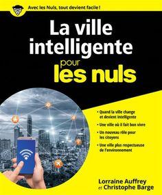La ville intelligente pour les nuls / Lorraine AUFFRAY & Christophe BARGE - Une synthèse des définitions se trouvant sous le terme de ville intelligente : l'énergie verte, les réseaux intelligents, les nouveaux services, l'électricité partagée ou les nouvelles technologies.