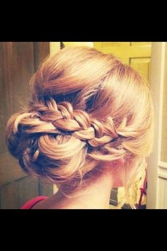 Plait And Bun.