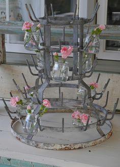 French Bottle Drying Rack, verkoop ik ook in mijn webshop op www.misslittlethings.nl