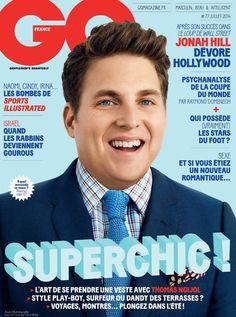 Jonah Hill Covers GQ France July 2014
