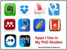 10 Great iPad Apps I use As A PhD Student ~ Educational Technology and Mobile Learning