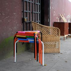 Marka Moderna's Woven Stools From El Salvador
